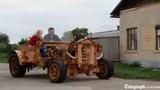 Siêu xe đồng nát bằng gỗ có một không hai thế giới