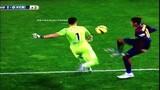 Neymar chơi xấu nhưng không qua mắt được trọng tài