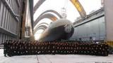 Cận cảnh tàu ngầm Nga khi bắn tên lửa đạn đạo
