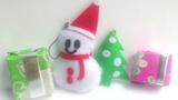 Clip hướng dẫn cách làm móc khóa Noel xinh xắn