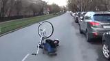 Cái giá phải trả khi phanh đột ngột xe đạp