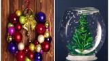 Biến đồ vật trong nhà thành món quà Giáng sinh đẹp lạ