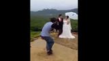 Hài hước Tôn Ngộ Không phiên bản Việt chụp ảnh cưới