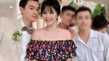 Khách mời đi đò dự đám cưới Thảo Trang ở Quảng Ngãi