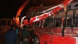 Xe khách Phương Trang lật nhào, 13 người gặp nạn