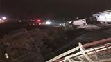Tai nạn tàu hỏa chở 400 khách ở Thanh Hóa, nhiều người thương vong