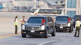 Cận cảnh đoàn xe đón Tổng thống Donald Trump tại sân bay Nội Bài
