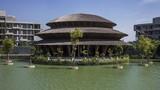 Nhà hàng tre mái rộng hơn 1.000m2 ở Cúc Phương trên báo Mỹ