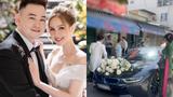 Chuẩn rich kid, streamer giàu nhất Việt Nam lái siêu xe rước dâu