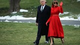Mê mẩn 2 bộ trang phục của phu nhân Tổng thống Trump