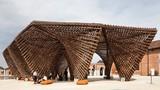 Thích thú với công trình tre Việt Nam ở triển lãm Kiến trúc tại Ý