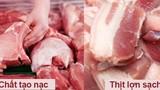 Chỉ 5 giây phân biệt được thịt lợn sạch và thịt siêu nạc