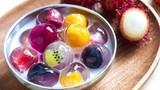 """Chè thạch hoa quả, món ăn vặt """"gây sốt"""" giải nhiệt ngày hè"""
