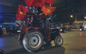 Ảnh: Những kiểu ăn mừng có 1-0-2 sau chiến thắng của Olympic Việt Nam