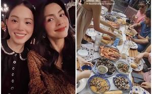 Dự tiệc cùng Hà Tăng, Linh Rin chắc suất nàng dâu hào môn