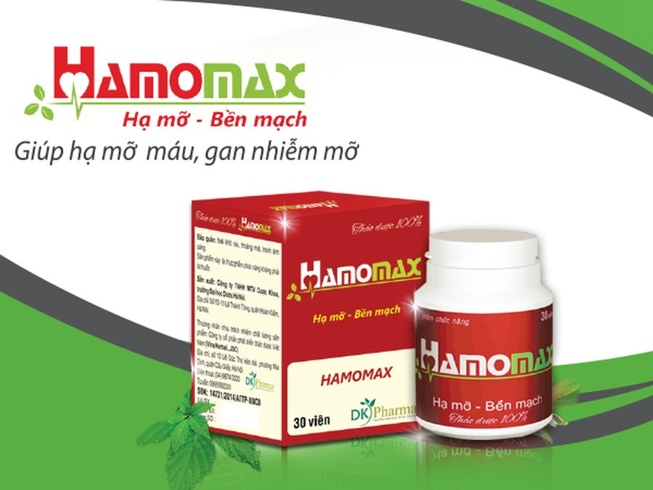 Lý do TPCN hạ mỡ máu Hamomax bị cảnh báo