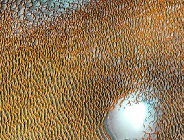 NASA công bố hình ảnh khó tin trên sao Hỏa, không ngờ đẹp tuyệt
