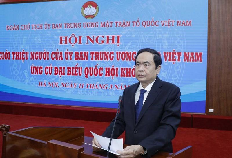 Ong Hau A Lenh rut khoi danh sach ung cu Dai bieu Quoc hoi khoa XV