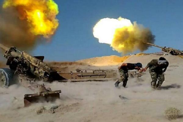 Quan doi Syria giao dau ac liet voi khung bo IS