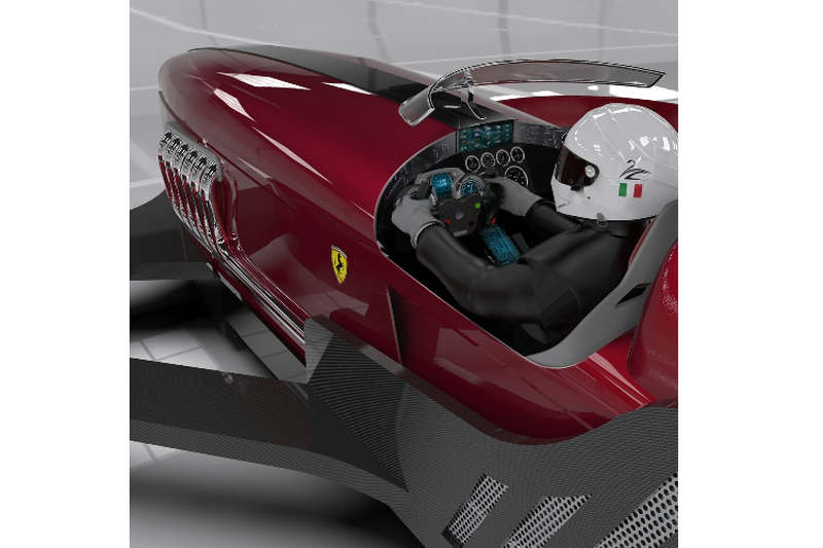Formula Drone One - xe bay phong cach Ferrari F1 1950-Hinh-3