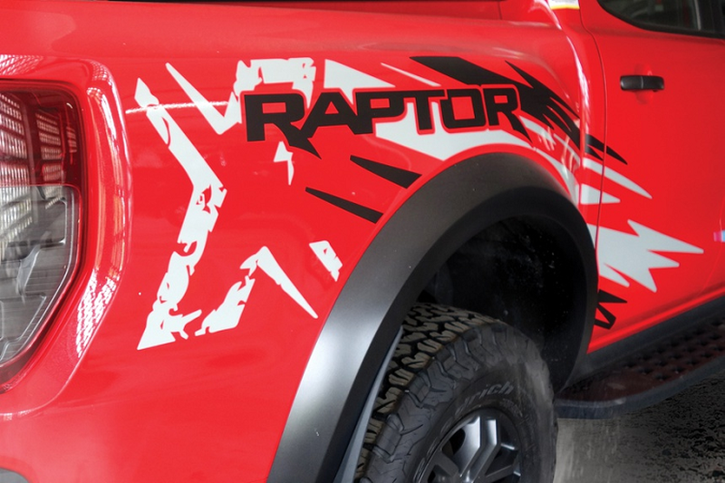 Ford Ranger Raptor X Special Edition tu 1,232 ty dong tai Malaysia-Hinh-4