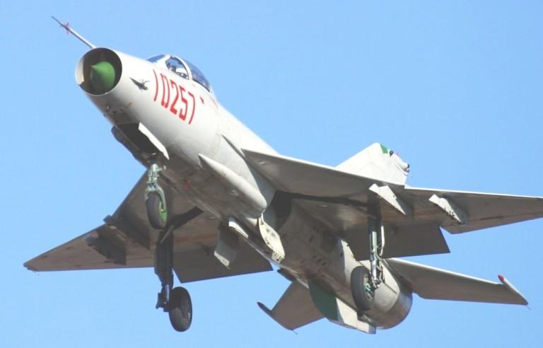 Du Viet Nam da loai bien, MiG-21 van la quoc bao cua Trung Quoc-Hinh-12