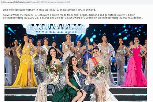 Bao quoc te noi gi ve Luong Thuy Linh dang quang Miss World Viet Nam?-Hinh-3