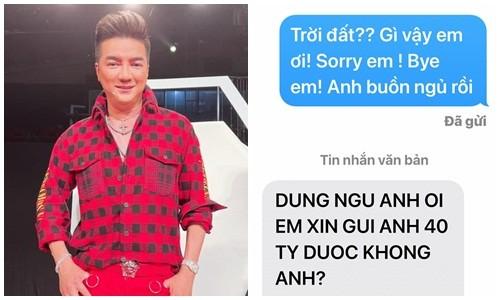 """Dam Vinh Hung buc xuc khi bi fan cuong """"xin giong"""" gia 40 ty-Hinh-3"""