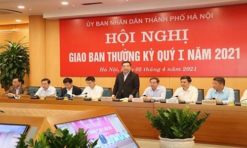 Chu tich Chu Ngoc Anh: Ha Noi phan dau hoan thanh vuot ke hoach cac chi tieu