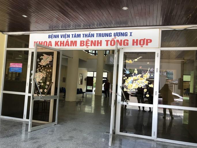 """Phong """"bay lac"""" trong BV Tam than Trung uong I: Tam dinh chi Giam doc"""