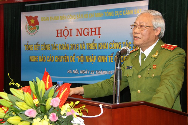Canh cao trung tuong Nguyen Cong Son nguyen Pho Tong cuc Canh sat