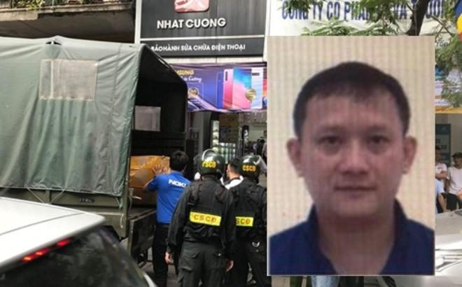 "TGD Nhat Cuong Mobile bi khoi to them toi ""Rua tien"""