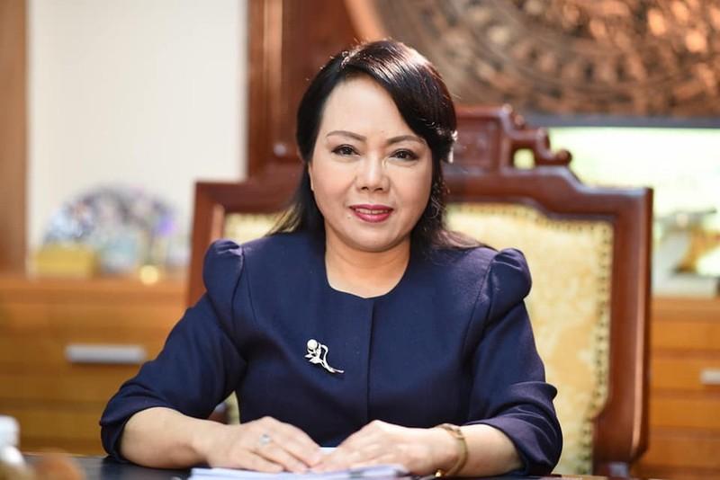 Nhan su thay the ba Nguyen Thi Kim Tien giu chuc Bo truong Bo Y te?