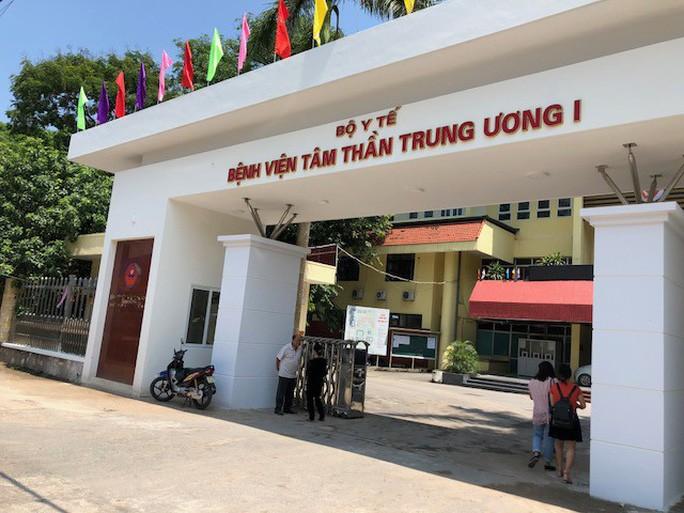 Phong bay lac trong Benh vien Tam than Trung uong: Hoi trach nhiem Giam doc?