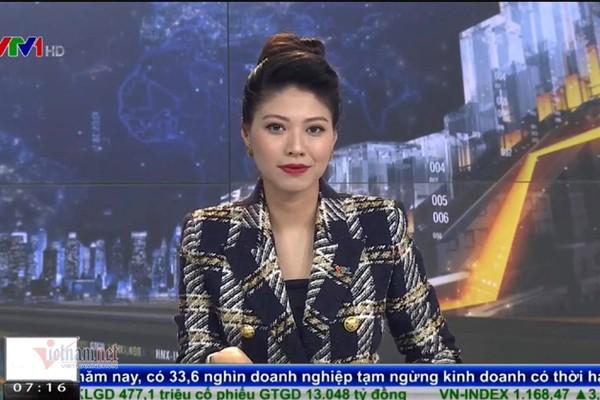 BTV Ngoc Trinh len song VTV sau thoi gian vang mat