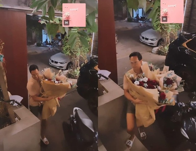 Kim Ly tang qua 8/3 cho Ho Ngoc Ha, con bonus noi tieng Viet