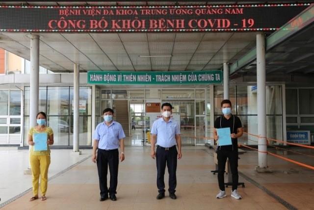 Them 12 nguoi khoi benh tai Da Nang, Quang Nam