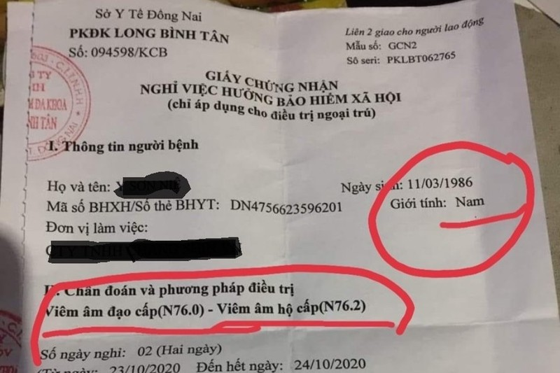 "PK Dong Nai ""chan"" nam thanh nien viem am dao... viem gi moi chuan?"