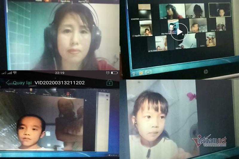 Hoc online boc lo ro nhung yeu kem cua hoc sinh Viet