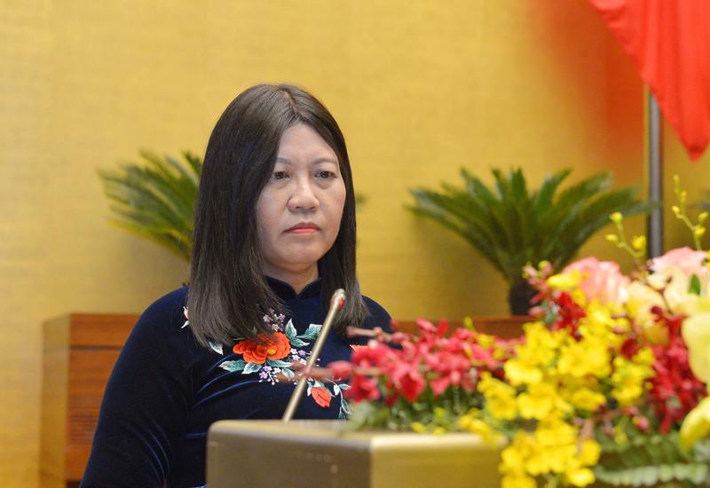 Chu nhiem Uy ban Tu phap Le Thi Nga: VKSND van de xay ra truy to oan