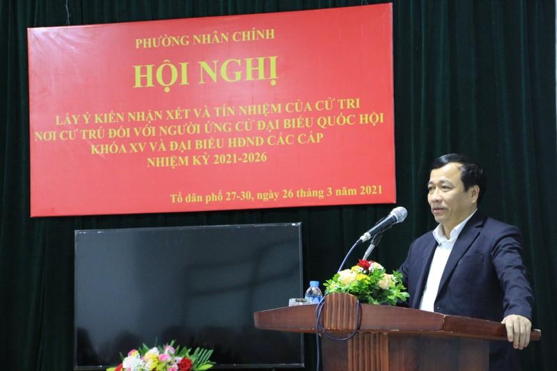 Ung cu DBQH: TSKH Phan Xuan Dung nhan tin nhiem tuyet doi cua cu tri noi cu tru-Hinh-4