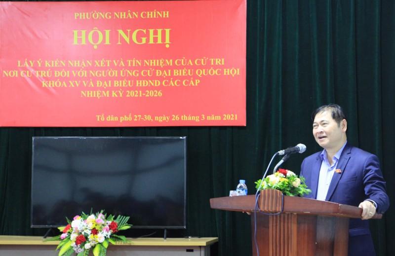 Ung cu DBQH: TSKH Phan Xuan Dung nhan tin nhiem tuyet doi cua cu tri noi cu tru-Hinh-6