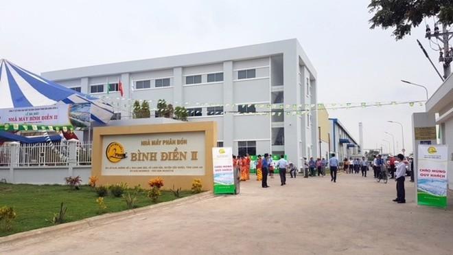 Phan bon Binh Dien dat ke hoach quy 1 lai 61 ty dong, gap 7,5 lan cung ky
