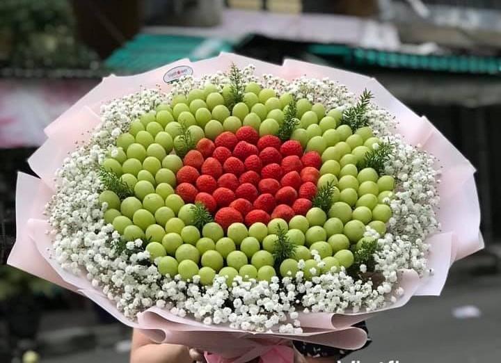 Doc la bo hoa trai cay, rau cu hut khach ngay 8/3-Hinh-7