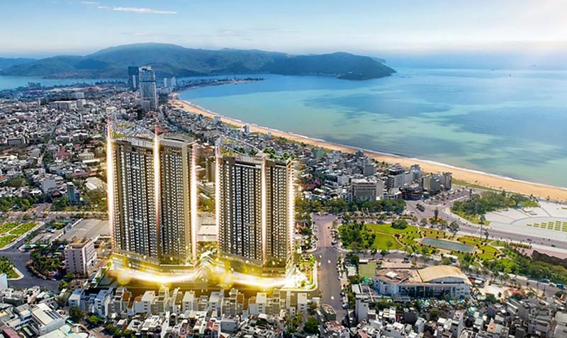 I-Tower Quy Nhon giua pho xay khong phep, lanh dao noi khong biet-Hinh-2