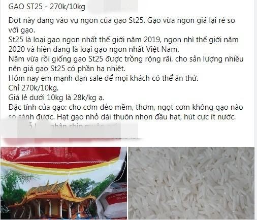 Gao ST25: Tran lan cho mang, loan gia... mua sao chuan?-Hinh-2