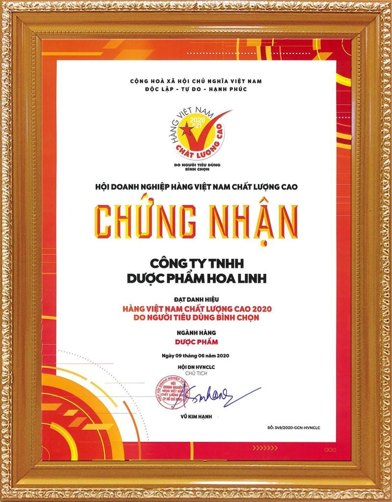 Duoc Hoa Linh tiep tuc khang dinh thuong hieu Hang Viet Nam chat luong cao-Hinh-2