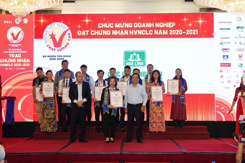 Duoc Hoa Linh tiep tuc khang dinh thuong hieu Hang Viet Nam chat luong cao