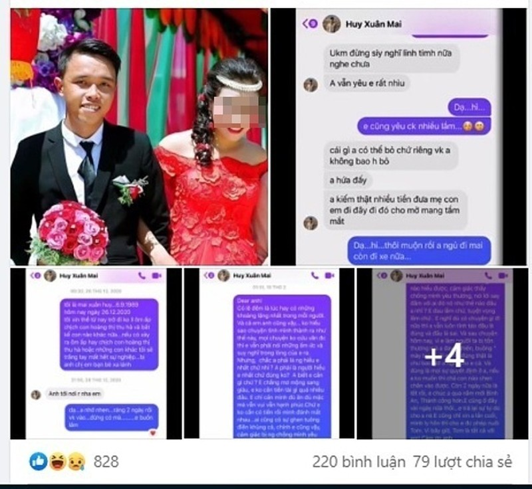 """Thanh photoshop"" Huy Quan Hoa bi vo to ngoai tinh va man dap tra-Hinh-2"