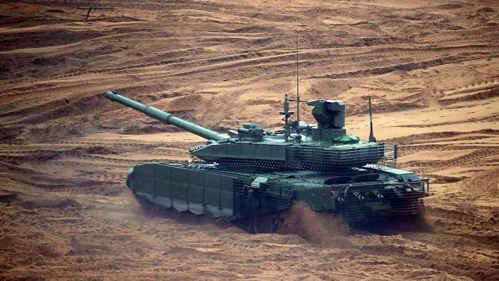 Khong phai T-14, hien tai day moi la xe tang manh nhat cua Nga-Hinh-5